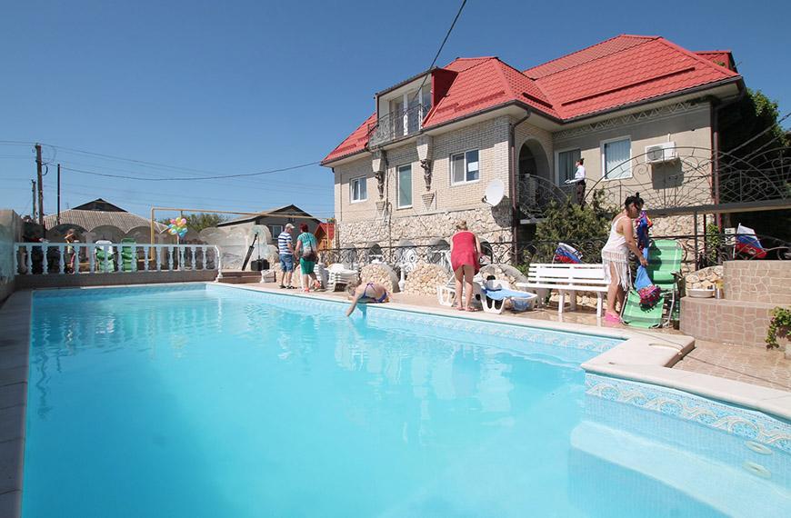 Отдых в Межводном с детьми и бассейном