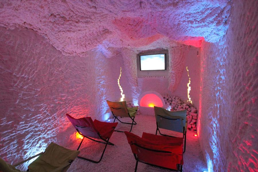 Соляная пещера Крым фото
