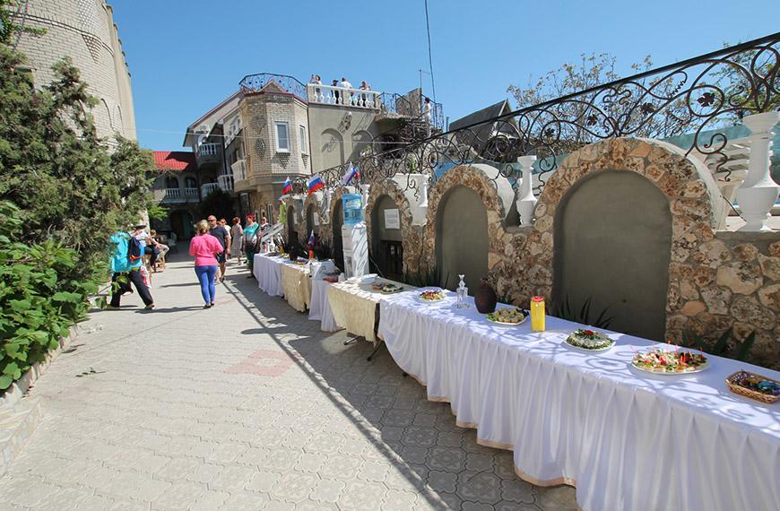 Отдых с питанием на Тарханкуте в Крыму